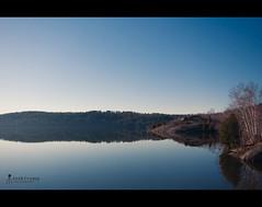 Simon Lake (CrumpJ) Tags: morning lake ontario canada reflection simon water beautiful spring nikon north wideangle hour sudbury chill uwa sigma1020mm d90 naughton