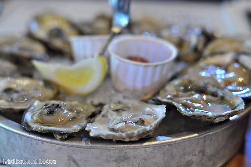 Blue Point Oysters at Stellas Fish Cafe ~ Minneapolis, MN