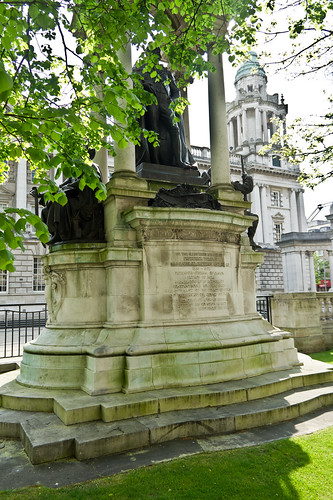 Monument to Frederick Temple. (Belfast City Hall)