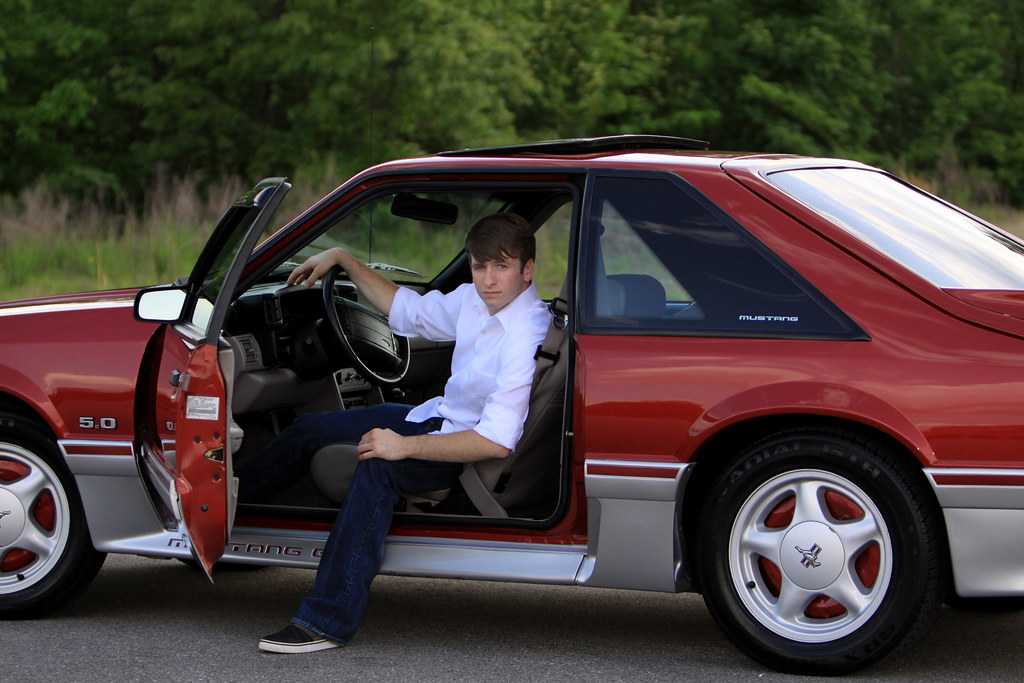 Austin and his mustang