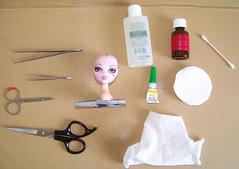 Reroot - head prep tools.
