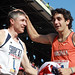 Bob Andrews and Virgina's Sophomore Middle Distance Runner Robby Andrews
