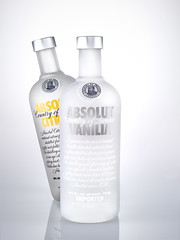 Absolut Coup (matthew_lowery) Tags: white studio leaf beverage liquor alcohol vodka absolut vanilla portfolio citron takeover coup schneider sinar c1 80mm profoto sekonic captureone l758dr