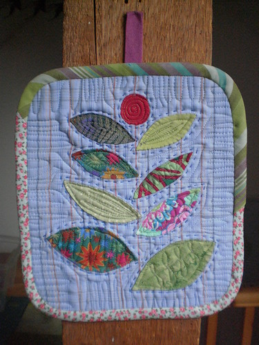 Pot holder by Textile-tally