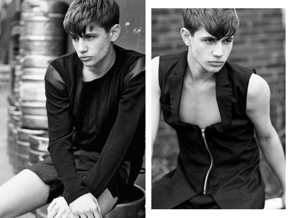Outtakes from Dominic Nutt editorial