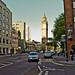 Belfast - The Albert Memorial Clock  (in the distance)