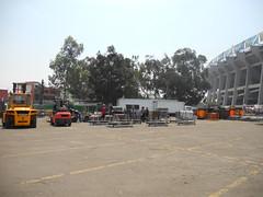 Tercer día de montaje - Estadio Azteca 22