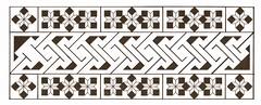 Celtangles (Marguerite1997) Tags: blackandwhite geometric grid paint autocad borders symetrical islamictiles zentangle celticborder zentangleinspiredart celticinspiredart