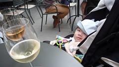 とらちゃんとワイン