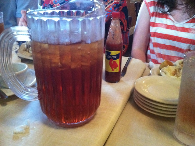 The infamous Southern sweet tea