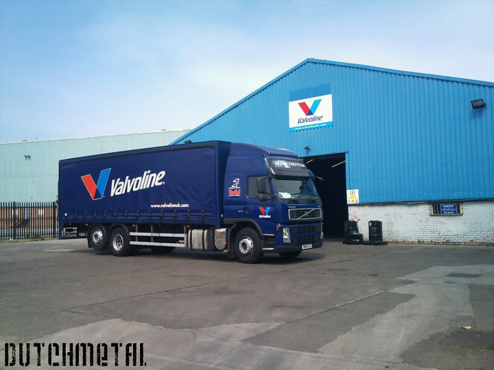 Valvoline delivery truck @ Birkenhead