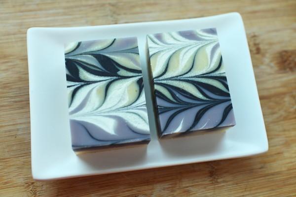 紫草渲染皂