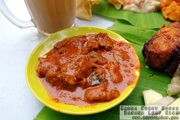 Kanna Curry House - Banana Leaf Rice-01