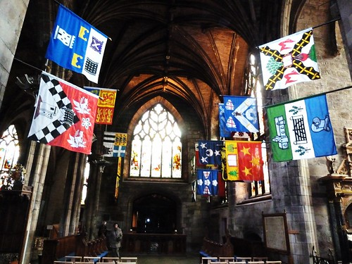 Inside St Giles Cathedral, Royal Mile,