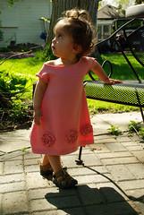 A dress for Lotus Bud