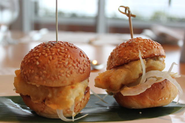Halibut Sliders