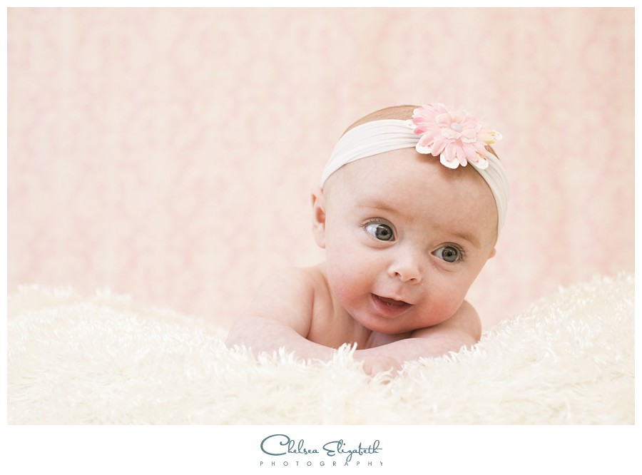 newborn portrait girl