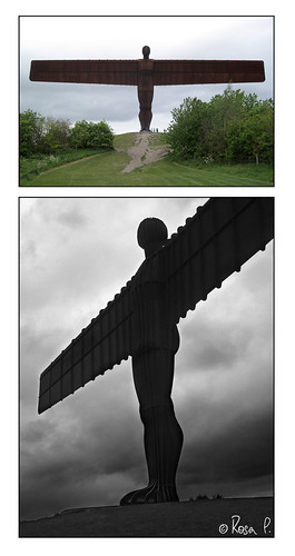 UK - Newcastle - Angel of the North