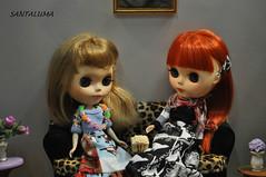 Aisha e iani trocando idéias e comendo pipoca!!