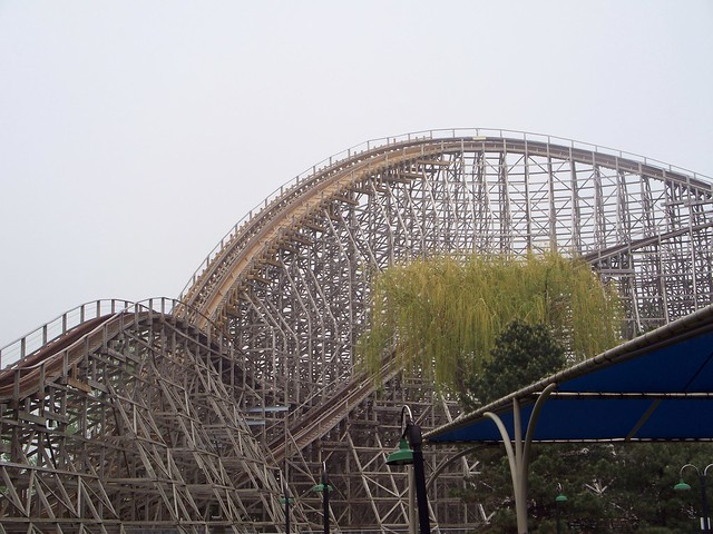 Cedar Point - Mean Streak Retracked Curve