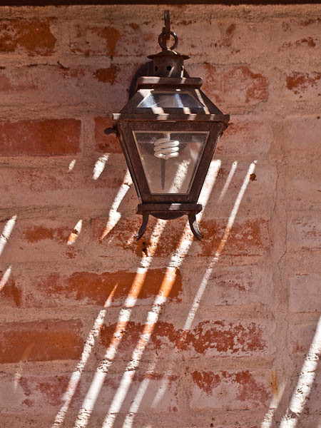 Study in Lighting at Tohono Chul Park in Tucson Arizona