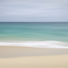 Porthcurno, Cornwall (Weeman76) Tags: uk sea seascape southwest beach coast nikon cornwall minimal minimalist icm porthcurno d90 nd106 intentionalcameramovement sigma1770mmf284dcoshsm