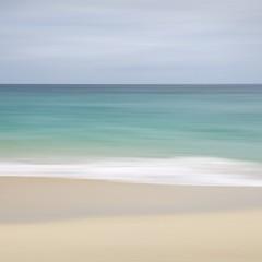 Porthcurno, Cornwall (Weeman76) Tags: uk sea seascape southwest beach coast nikon cornwall minimal minimalist icm porthcurno d90 nd106 intentionalcameramovement sigma1770mmf284dcoshsm
