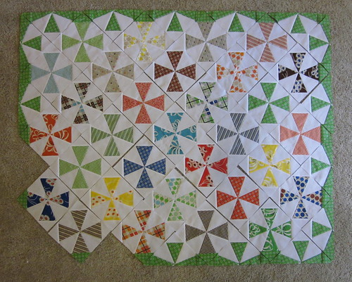 Saltwater Taffy Quilt #2 - progress H