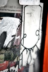 vintage (damonabnormal) Tags: street city urban streetart philadelphia graffiti nikon sticker stickerart stickers may streetphotography bob urbanart pa philly phl bobwillreign 215 urbanite bwr 2011 d90 citystickers
