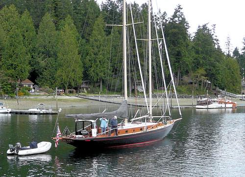 wood old classic boat wooden yacht schooner