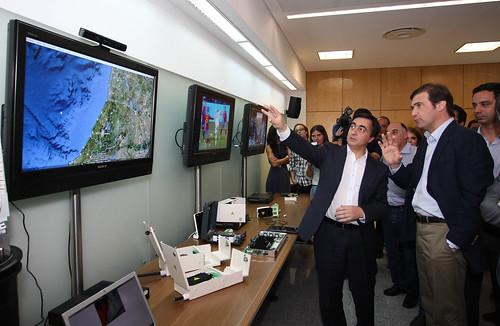 Pedro Passos Coelho visita Centro da PT INOVAÇÃO
