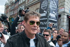 Don't Hassel the Hoff (bartekodias) Tags: england london race unitedkingdom rally event davidhasselhoff coventgarden thehoff supercars gumball3000