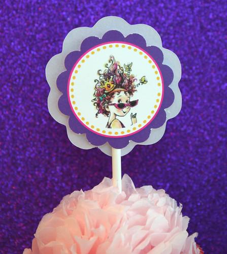 Fancy Nancy Cupcake 4