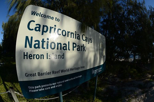 Welcome to Capricornia Cays National Park - Heron Island