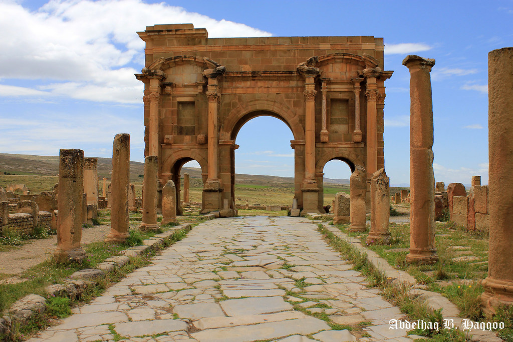 The world 39 s best photos of timgad and travel flickr hive for Architecture romaine
