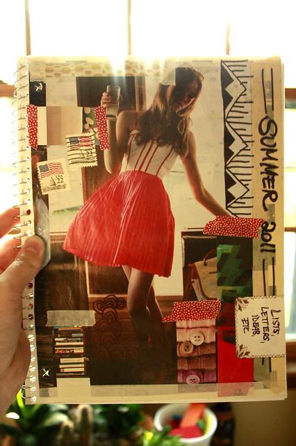 summer notebook.