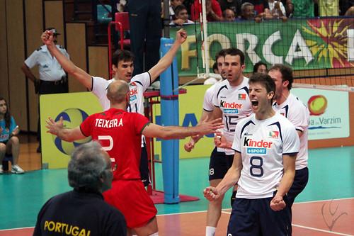 Voleibol: Portugal 1-3 Argentina