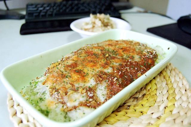 昼ご飯は焼きカレーでした! #gohan