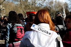 Dislike (delikz) Tags: street city people urban woman man tree male portugal look statue female hair word demo march town photo back europe hand message looking post image box district lisbon report capital protest like demonstration event ko revolution straighthair backpack manifestation facebook lx 1203 socialchange correios dislike brownhair ireport 2011 wordcenter photoreport globalcity againstthesystem lisbonregion facebookevent districtoflisbon facebooklike lisbondistrict alphacity facebookdislike geraorasca manifestationagainstthesystem demonstrationagainstthesystem protestfortherighttoemployment protestfortheimprovementofworkingconditions theendoflaborprecariousness portuguesecapital portuguesedistrict marcodoscorreios