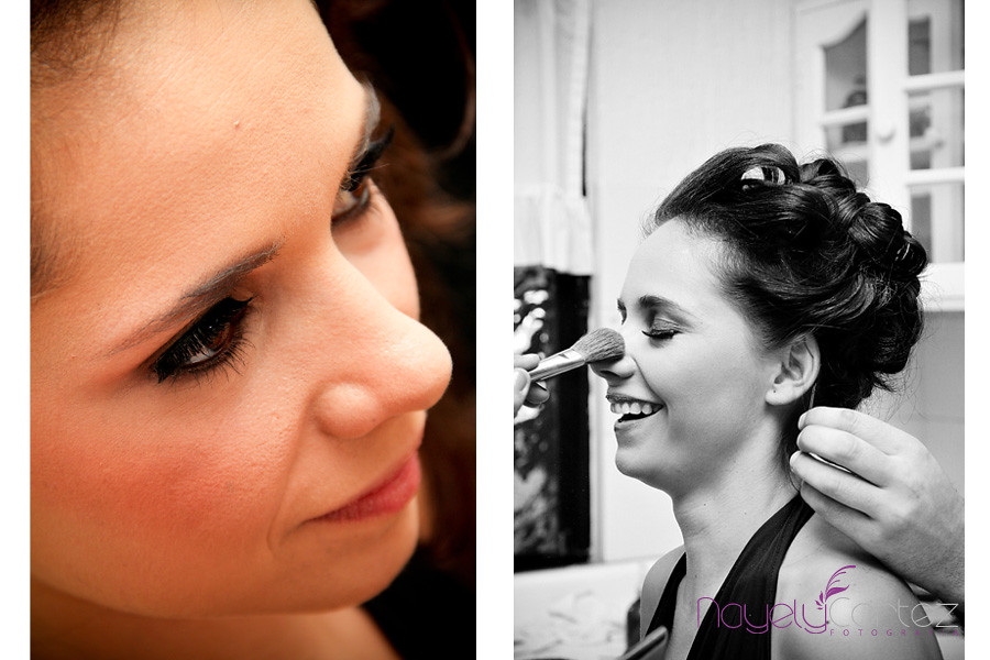 fotografia arreglo de la novia