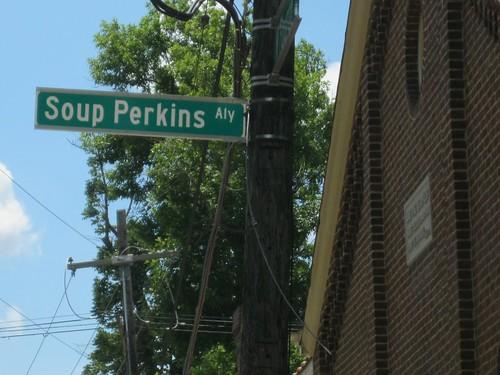 Soup Perkins Alley - Lexington, Ky.