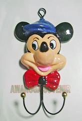 souvenir gypsum ganci mickey besar