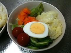 朝食サラダ(2011/6/21)