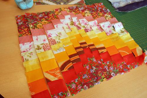 лоскутное одеяло схема