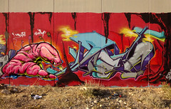 INCA  _FaTaL_WoRM (SRCARAMELOS) Tags: new colors inca spain paint colores alicante worm graff eds th nuevo fatal taser 2011 edsick