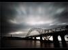 Dark Days..... (Digital Diary........) Tags: longexposure bridge clouds dark movement mood moody darkness impact merseyside widnes ndfilter runcornbridge weldingglass