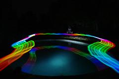 (arthur.clarky) Tags: light pool girl night painting photography long exposure graffitti mysterious