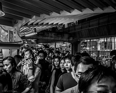 On the Skytrain overpass - Bangkok (Nathan A Rodgers) Tags: travel blackandwhite bw thailand asia southeastasia bangkok streetphotography countries streetscenes 2012 travelphotography