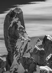 du Midi B&W (jeffery edwards) Tags: canon70d aiguille du midi snow mountain rock cold chamonix france