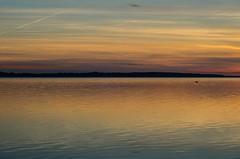 September evening in resund (frankmh) Tags: sunset water sea sky resund skne sweden denmark outdoor
